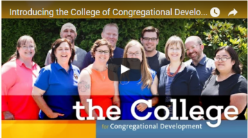 Introducing the College of Congregational Development